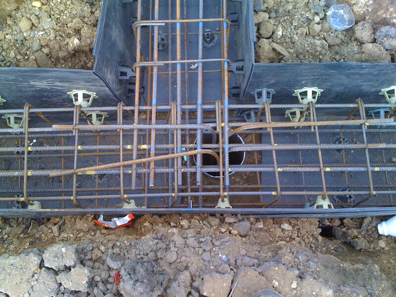 S P Groundworks Ltd : Ring beams and concrete slabs